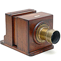Dallmeyer, Box Camera, 1865.