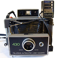Polaroid Automatic 430 (1971).