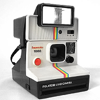 Polaroid Supercolor 1000 Polatronic 1 (1977).