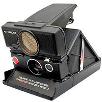 Polaroid SX-70 Time-Zero Model 2 (1978).