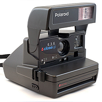 Polaroid 636 Close Up (1996).