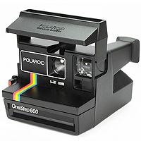 Polaroid One Step 600 (1983).